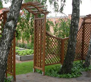 Ширмы в саду